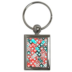 Pattern Factory 32d Key Chains (rectangle)  by MoreColorsinLife