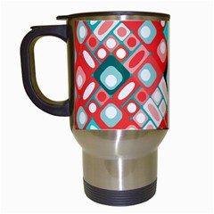 Pattern Factory 32d Travel Mugs (white) by MoreColorsinLife