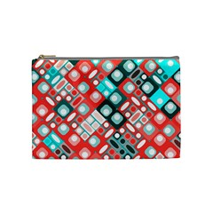 Pattern Factory 32d Cosmetic Bag (medium)  by MoreColorsinLife