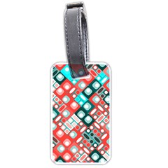 Pattern Factory 32d Luggage Tags (two Sides) by MoreColorsinLife