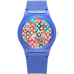 Pattern Factory 32d Round Plastic Sport Watch (s) by MoreColorsinLife