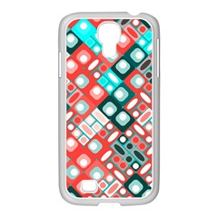 Pattern Factory 32d Samsung Galaxy S4 I9500/ I9505 Case (white) by MoreColorsinLife