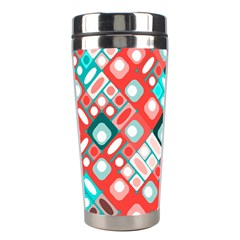 Pattern Factory 32d Stainless Steel Travel Tumblers by MoreColorsinLife
