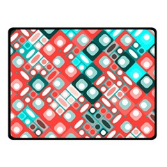 Pattern Factory 32d Double Sided Fleece Blanket (small)  by MoreColorsinLife