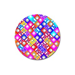 Pattern Factory 32a Magnet 3  (round) by MoreColorsinLife
