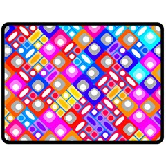 Pattern Factory 32a Fleece Blanket (large)  by MoreColorsinLife