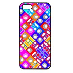 Pattern Factory 32a Apple Iphone 5 Seamless Case (black) by MoreColorsinLife