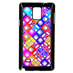 Pattern Factory 32a Samsung Galaxy Note 4 Case (black) by MoreColorsinLife