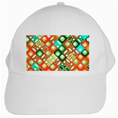 Pattern Factory 32c White Cap by MoreColorsinLife