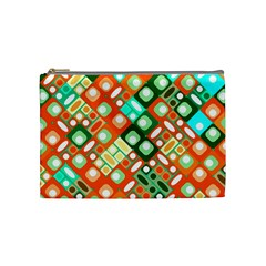 Pattern Factory 32c Cosmetic Bag (medium)  by MoreColorsinLife