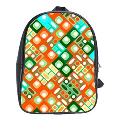 Pattern Factory 32c School Bags(large)  by MoreColorsinLife