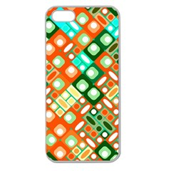 Pattern Factory 32c Apple Seamless Iphone 5 Case (clear) by MoreColorsinLife