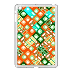 Pattern Factory 32c Apple Ipad Mini Case (white) by MoreColorsinLife