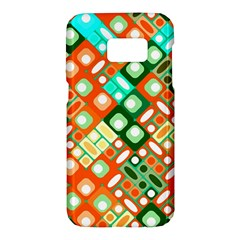 Pattern Factory 32c Samsung Galaxy S7 Hardshell Case  by MoreColorsinLife