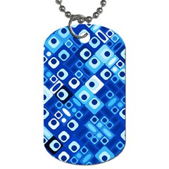 Pattern Factory 32e Dog Tag (one Side) by MoreColorsinLife