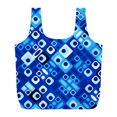 Pattern Factory 32e Full Print Recycle Bags (l)  by MoreColorsinLife