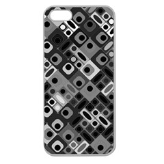 Pattern Factory 32f Apple Seamless Iphone 5 Case (clear) by MoreColorsinLife