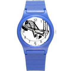 Seal Of Ahvaz Round Plastic Sport Watch (s) by abbeyz71