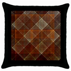 Allsquared Throw Pillow Case (black) by designsbyamerianna