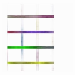 Blurred Lines Small Garden Flag (two Sides) by designsbyamerianna