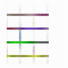 Blurred Lines Large Garden Flag (two Sides) by designsbyamerianna