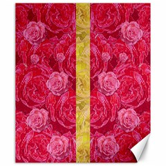 Rose And Roses And Another Rose Canvas 20  X 24   by pepitasart