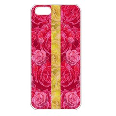 Rose And Roses And Another Rose Apple Iphone 5 Seamless Case (white) by pepitasart