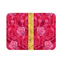 Rose And Roses And Another Rose Double Sided Flano Blanket (mini)  by pepitasart