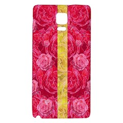 Rose And Roses And Another Rose Galaxy Note 4 Back Case by pepitasart