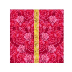 Rose And Roses And Another Rose Small Satin Scarf (square) by pepitasart