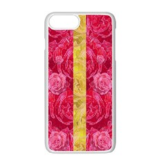 Rose And Roses And Another Rose Apple Iphone 7 Plus White Seamless Case by pepitasart