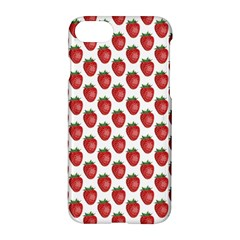 Fruit Strawberry Pattern Apple Iphone 7 Hardshell Case by ShiroSan