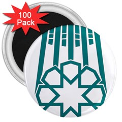 Seal Of Hamedan  3  Magnets (100 Pack) by abbeyz71
