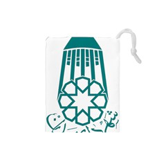 Seal Of Hamedan  Drawstring Pouches (small)  by abbeyz71