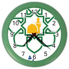 Seal Of Mashhad  Color Wall Clocks by abbeyz71