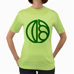 Seal Of Isfahan  Women s Green T-shirt by abbeyz71