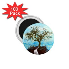 Single Tree 1 75  Magnets (100 Pack)  by berwies