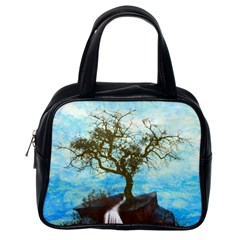 Single Tree Classic Handbags (one Side) by berwies