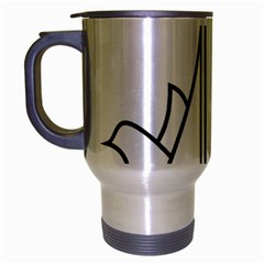 Logo Of Karaj Travel Mug (silver Gray)