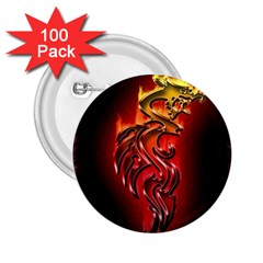 Dragon Fire 2 25  Buttons (100 Pack)