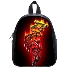 Dragon Fire School Bags (small)  by BangZart