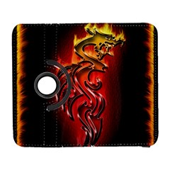 Dragon Fire Galaxy S3 (flip/folio) by BangZart