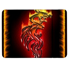 Dragon Fire Samsung Galaxy Tab 7  P1000 Flip Case
