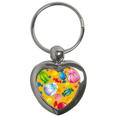 Sweets And Sugar Candies Vector  Key Chains (heart)