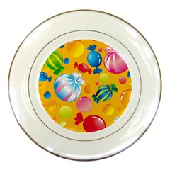 Sweets And Sugar Candies Vector  Porcelain Plates by BangZart