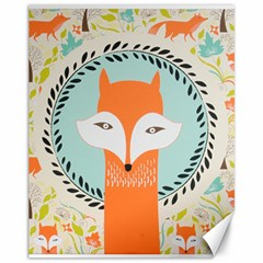 Foxy Fox Canvas Art Print Traditional Canvas 11  X 14   by BangZart