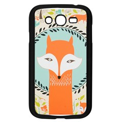 Foxy Fox Canvas Art Print Traditional Samsung Galaxy Grand Duos I9082 Case (black)