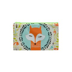Foxy Fox Canvas Art Print Traditional Cosmetic Bag (xs)