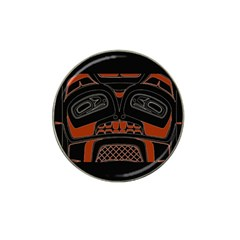 Traditional Northwest Coast Native Art Hat Clip Ball Marker
