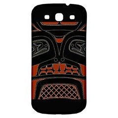 Traditional Northwest Coast Native Art Samsung Galaxy S3 S Iii Classic Hardshell Back Case by BangZart